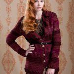 Free Pattern - Ruffle Collar Cardigan by Amanda Saladin