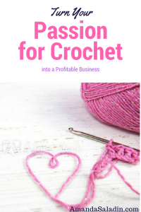 Yes, you can make money with crochet!  Click through to see how...