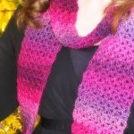 Free Pattern - Unforgettable One-Skein Scarf by Amanda Saladin