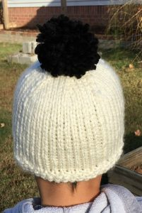 Free Knitting Pattern - Christian's Snowman Hat by Amanda Saladin