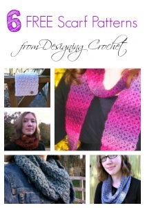 Free Scarf Patterns from Designing Crochet