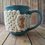 Free Crochet Pattern! This is a great quick gift! 30 Minute Coffee Cozy