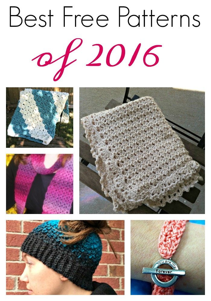 The most popular FREE crochet patterns from Amanda Saladin