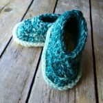 Free Crochet Pattern - Baby Scarfie Booties