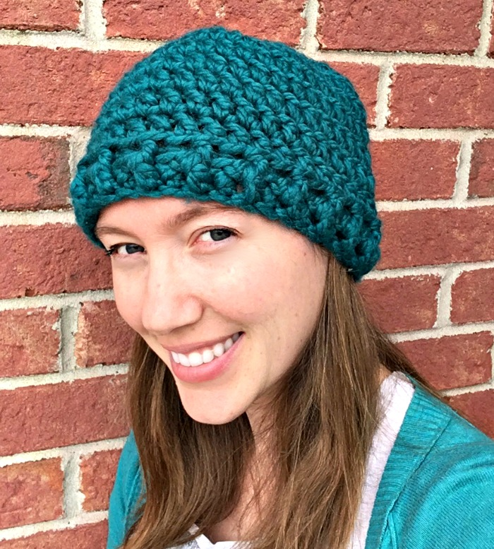 Free Crochet Pattern - Thick & Quick Hat