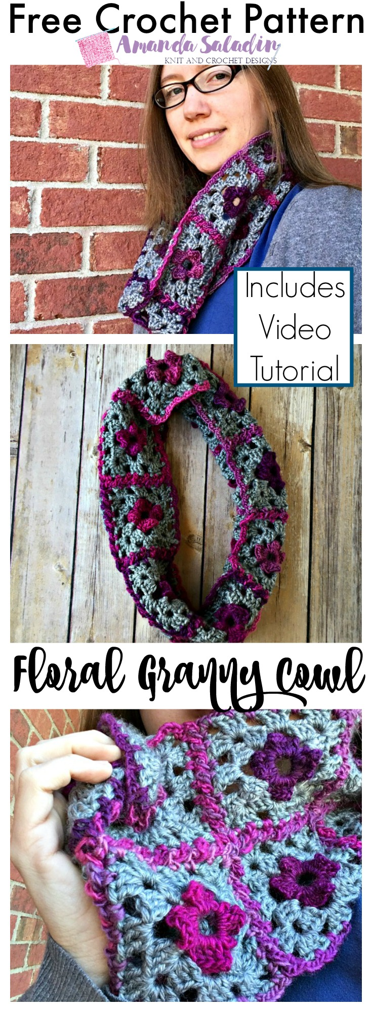 Free Crochet Pattern with Video Tutorial - So easy!