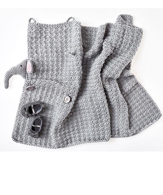 Elephant Blanket Free Crochet Pattern Amanda Saladin