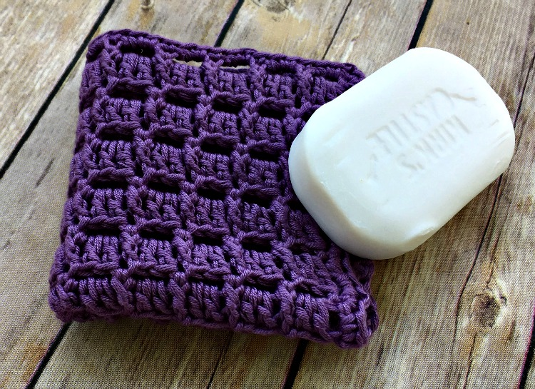 Free Crochet Pattern - Lavender Dreams Washcloth