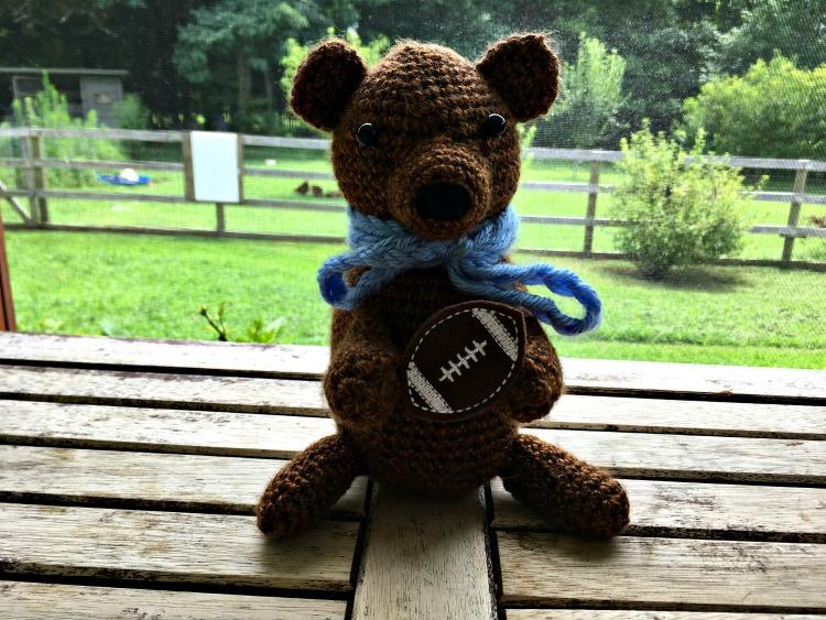 Free Crochet Pattern - Classic Baby Bear