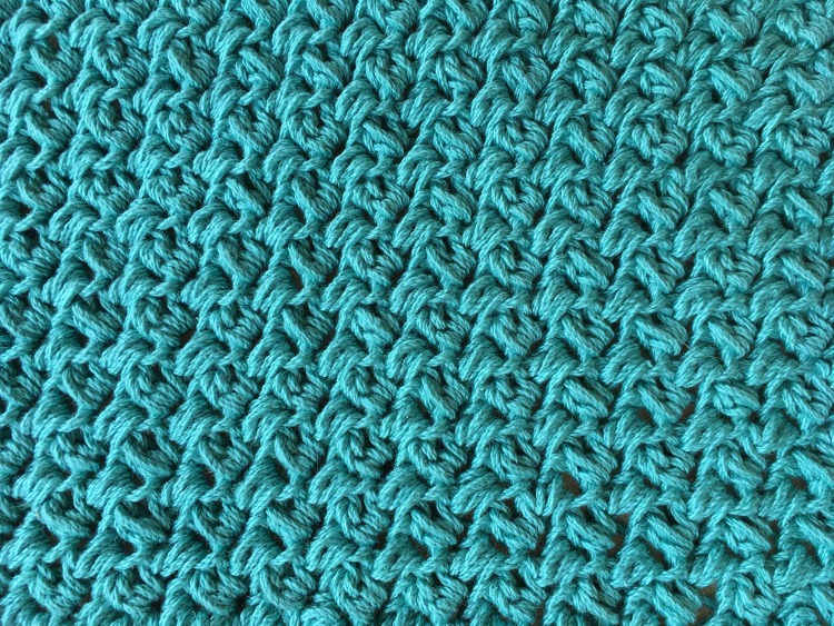 Free Crochet Pattern - Simple Textured Washcloth