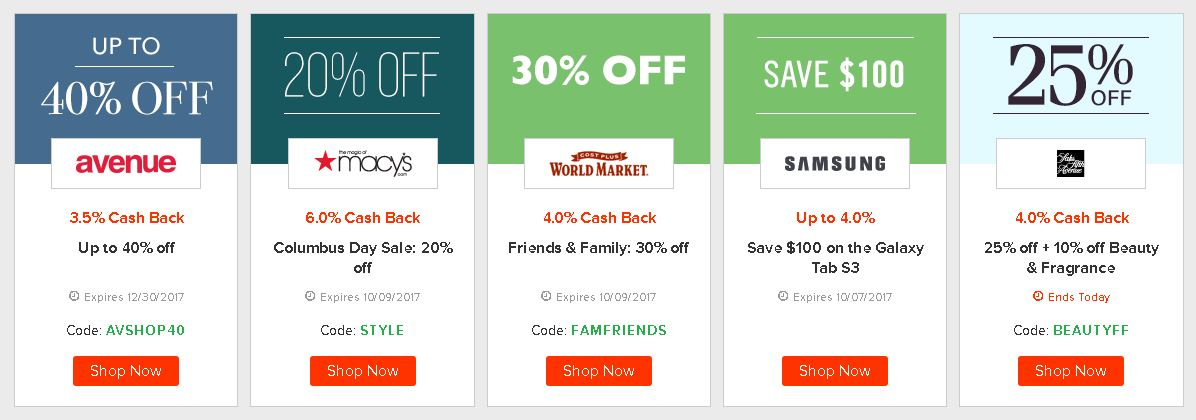 Use Ebates to save money on yarn and supplies