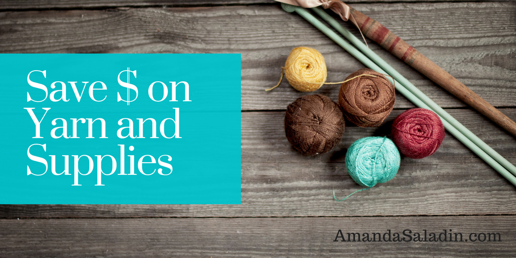 Here's a great way to save money on yarn and supplies!