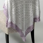 Free Knitting Pattern - Lace Sampler Baby Blanket