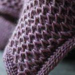 Free Knitting Pattern - Waffle Blanket